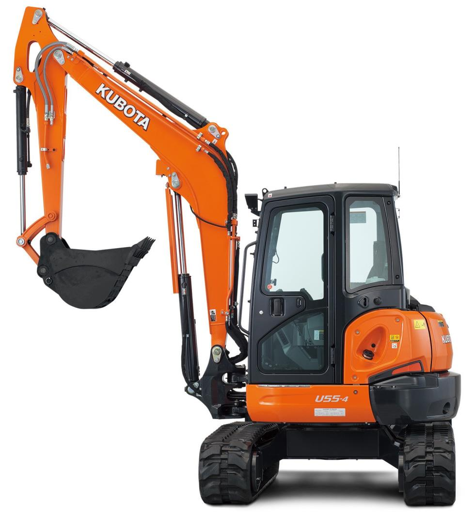 Baker Equipment Rentals - MINI SWING EXCAVATOR U55-4 Rentals